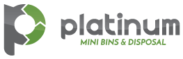 mini bin rental & disposal services | Platinum Mini Bins
